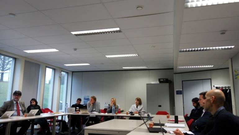 VIRUSCAN first review meeting, 21st November 2017, Brussels
