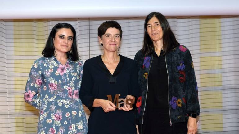 Prof. Montserrat Calleja, team member of VIRUSCAN project, MAS AWARD 2018!