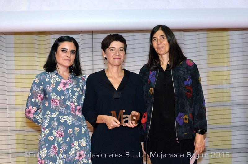 Prof. Montserrat Calleja, team member of VIRUSCAN project, MAS AWARD 2018!